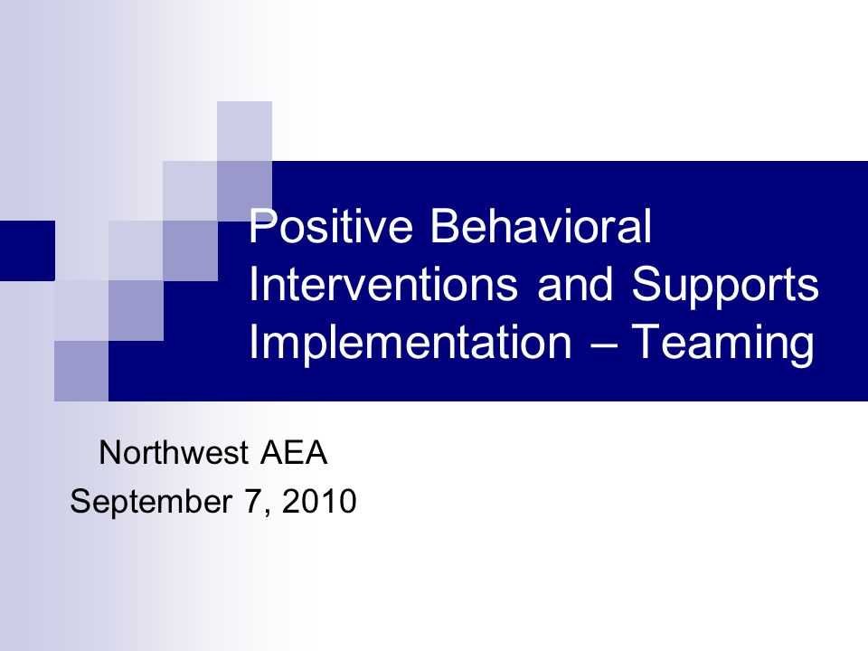 Major portions of the following material were developed by: George Sugai and Rob Horner OSEP Funded Technical Assistance Center www.pbis.org In conjunction with The Iowa Department of Education