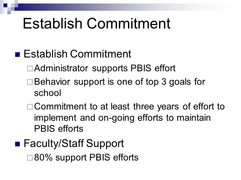 PBIS Team Member Roles Data-Base Manager  Responsible for ensuring data reports (ODR reports, Team Checklist, Self-Assessment Survey, etc.) are available for team meetings and staff/faculty meetings and inservices Recorder/Secretary  Records activities of meetings and trainings.