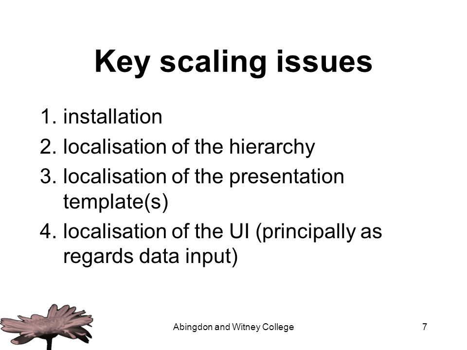 Abingdon and Witney College8 Evaluation OSP1.5 not good enough (but we knew that) Wait for 2.1 on Sakai - out now –But, only suited for institutions with high IT readiness factors Develop simple appropriate technology solutions for smaller institutions –e.g.