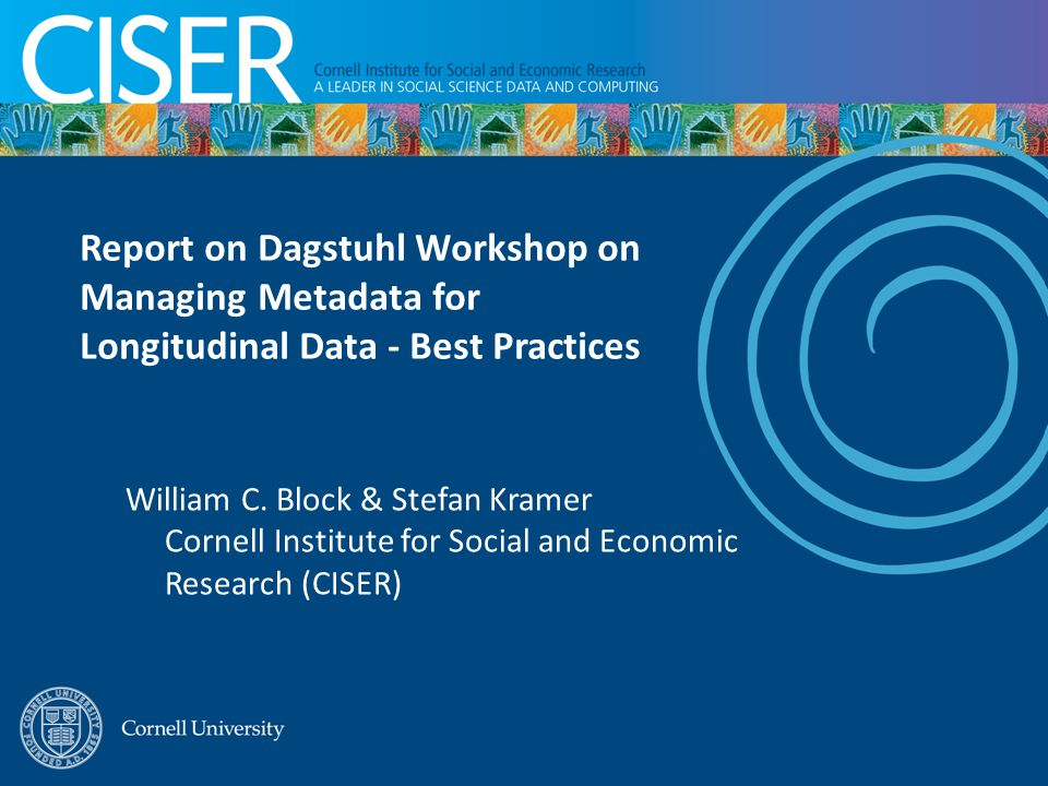 Two previous rounds of working paper authoring at Schloss Dagstuhl in week-long working meetings: 2008: Best Practices Across the Data Life Cycle http://www.ddialliance.org/resources/publications/working/bestpractices http://www.ddialliance.org/resources/publications/working/bestpractices 2009: Use Cases http://www.ddialliance.org/resources/publications/working/usecases http://www.ddialliance.org/resources/publications/working/usecases From Oct.