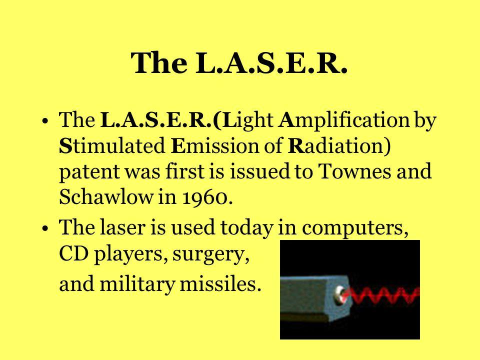 The L.A.S.E.R.