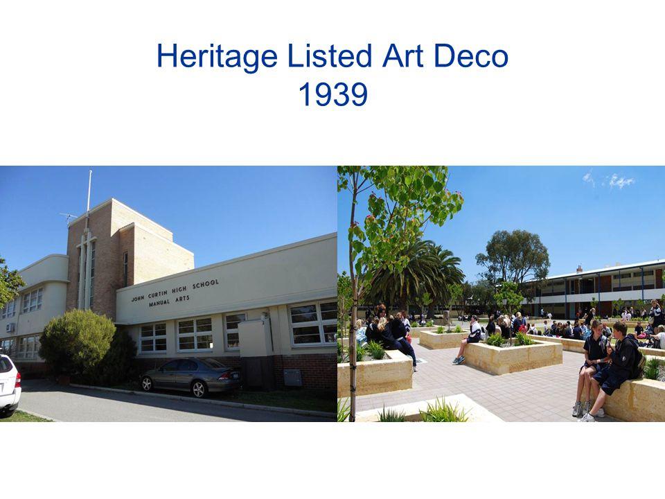 Heritage Listed Art Deco 1939