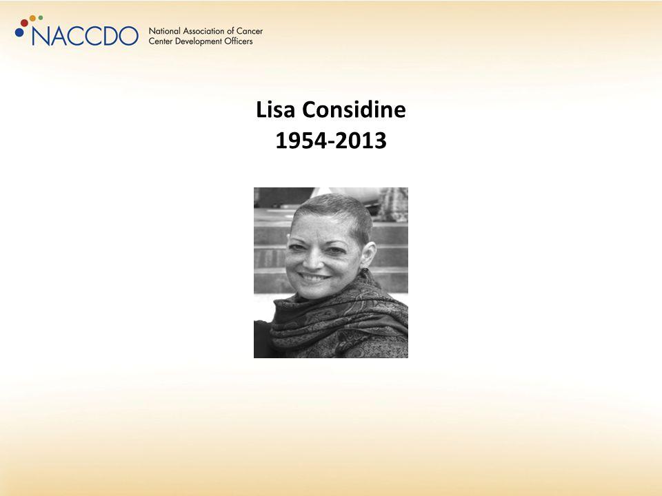 Lisa Considine 1954-2013