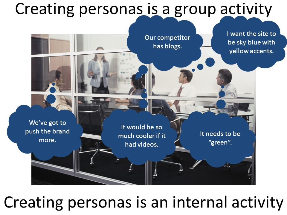 Obstacles to persona use – even more likely when outsourced 10