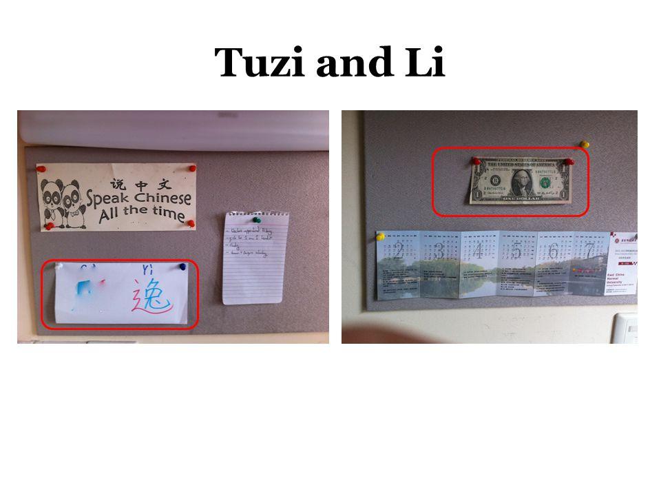 Tuzi and Li