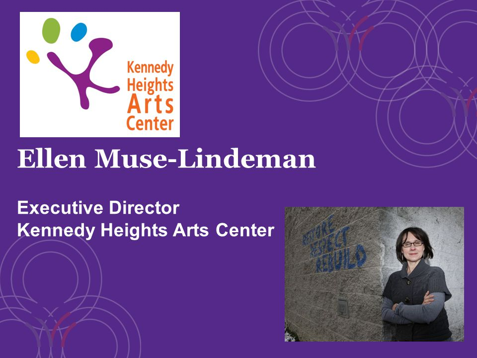 Ellen Muse-Lindeman Executive Director Kennedy Heights Arts Center