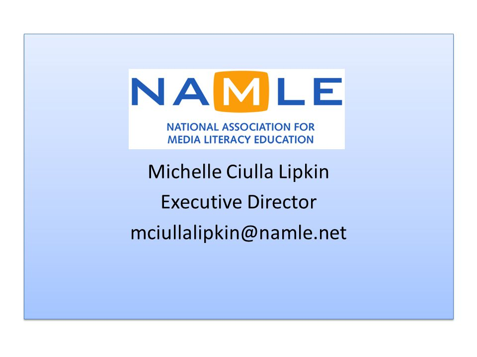 Michelle Ciulla Lipkin Executive Director mciullalipkin@namle.net Michelle Ciulla Lipkin Executive Director mciullalipkin@namle.net