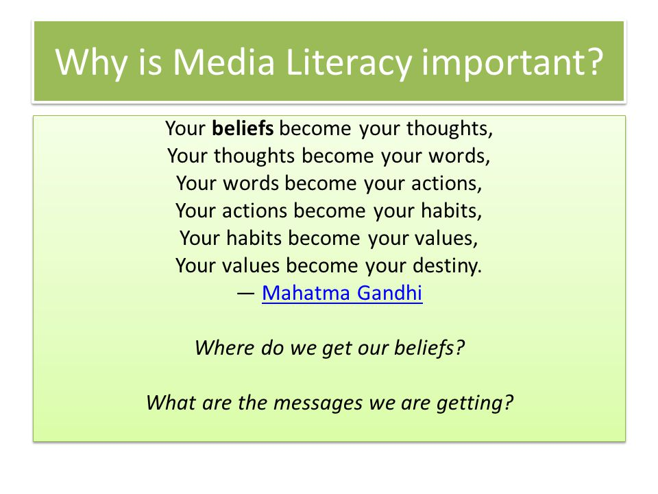 Educate Prepare vs protect Teach vs tell Explore the subject Learn how to have media literacy conversations in the home