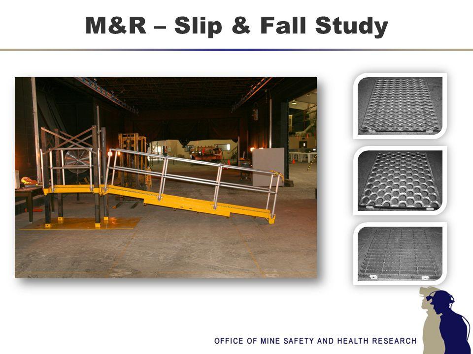 M&R – Slip & Fall Study