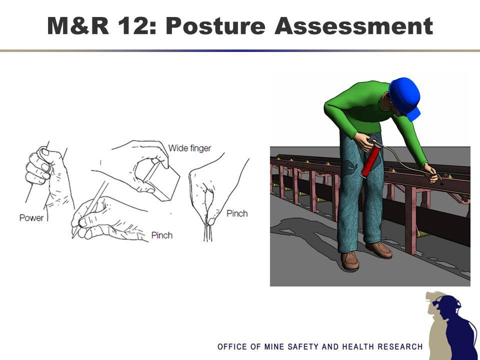 M&R 12: Posture Assessment