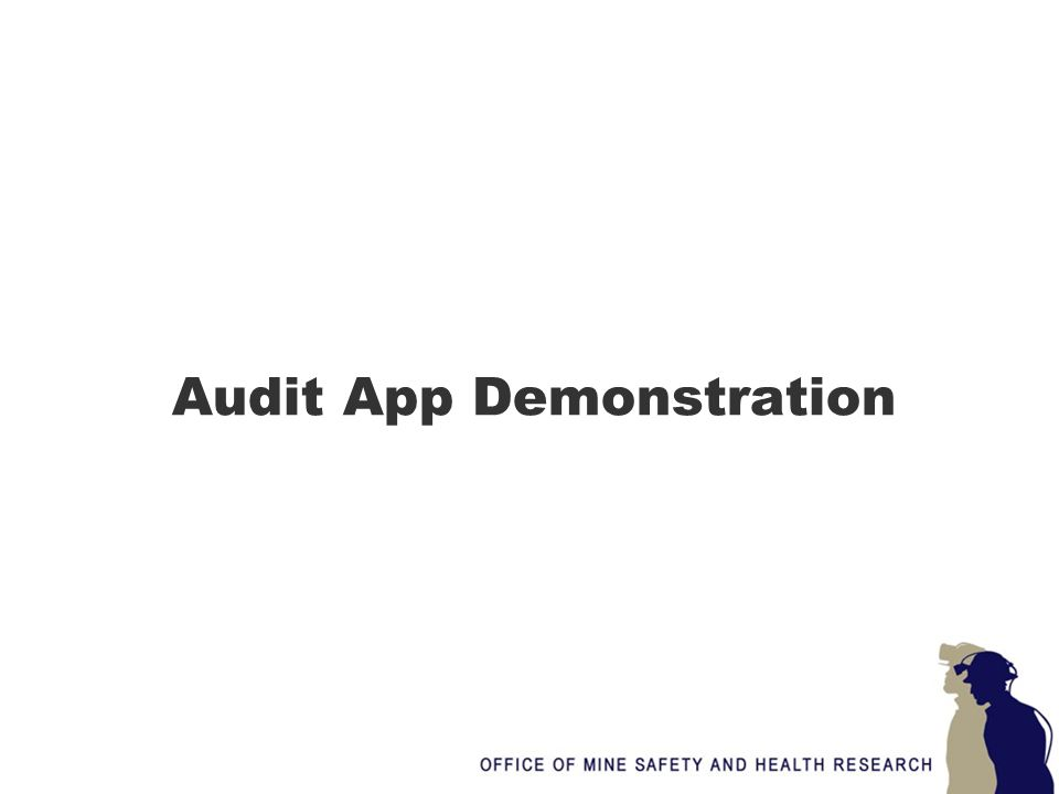 Audit App Demonstration