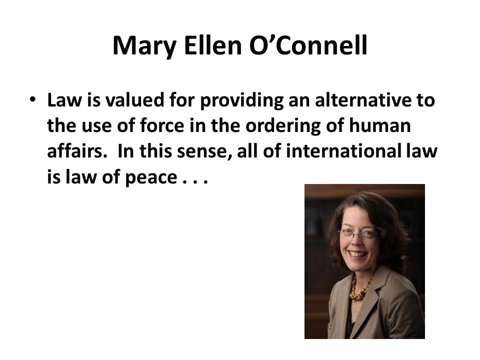 Law of Peace – UN Charter, Regional Charters, UN Declaration on Friendly Relations, UN GA Resolutions, UNESCO declarations – Peace as a Solidarity Right or Civil-Political Right.
