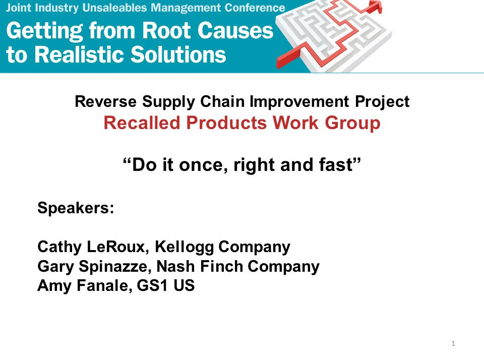 12 Major Issue #1 Recommendations for manufacturers 1.Focus on identifying products and batches affected.