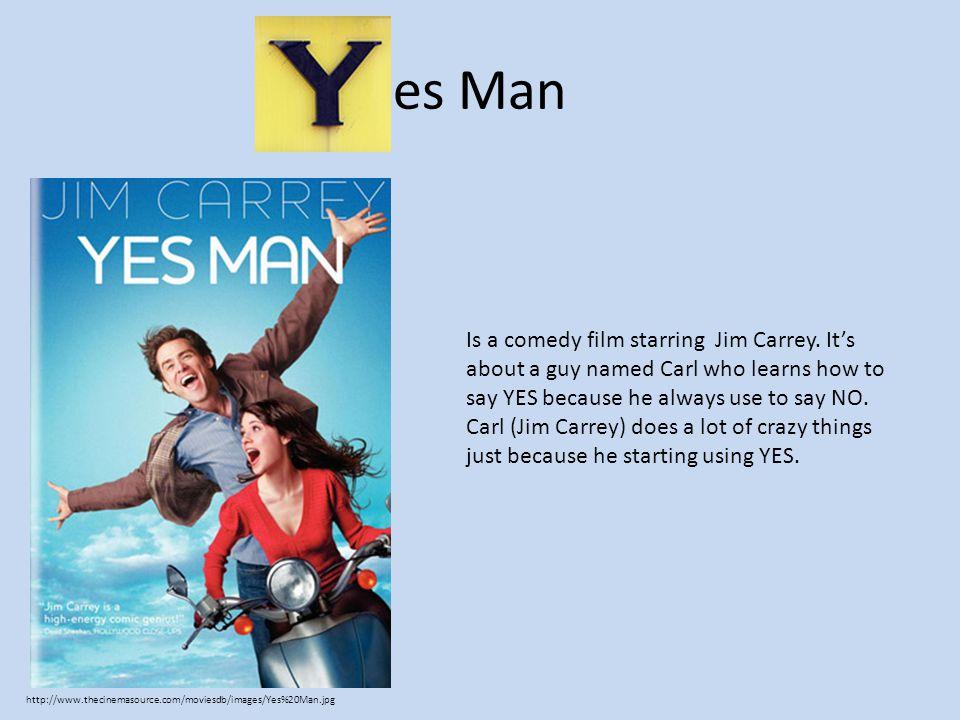 es Man Is a comedy film starring Jim Carrey.