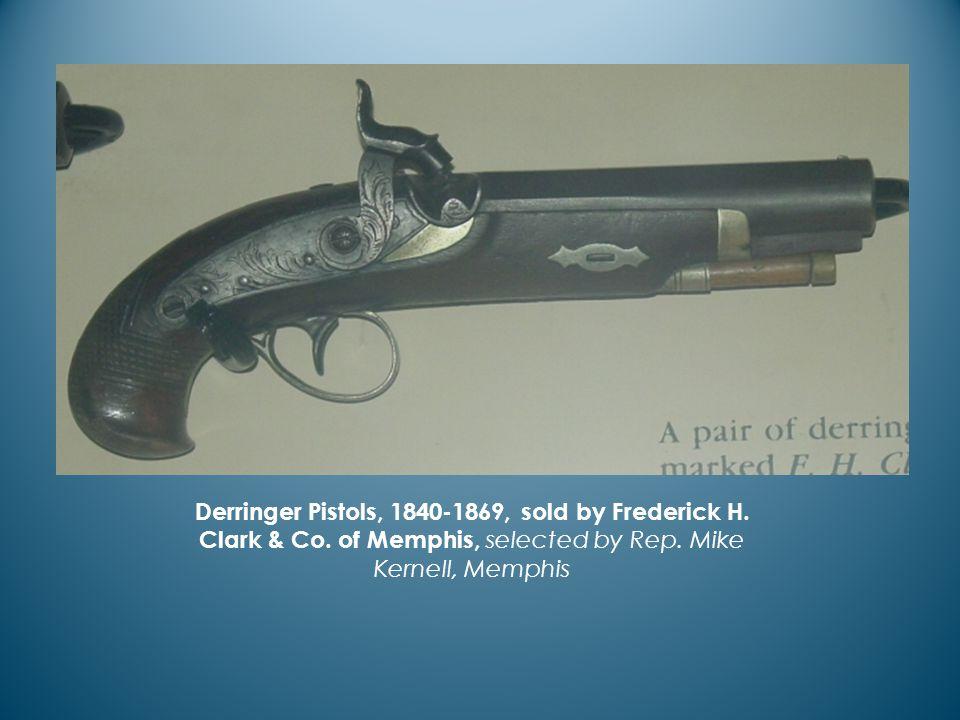Derringer Pistols, 1840-1869, sold by Frederick H.