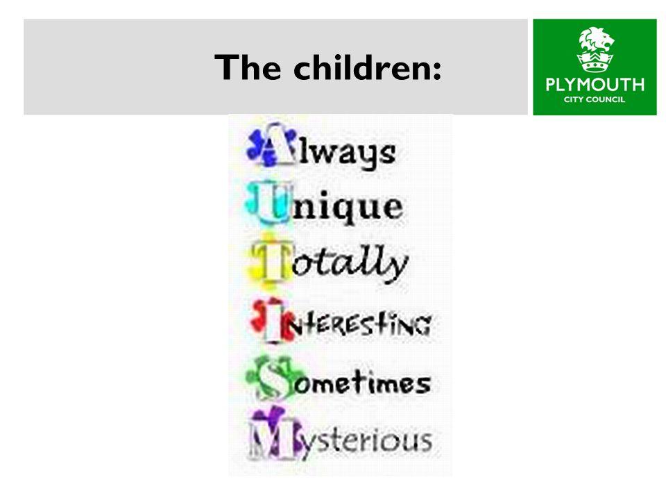 The children: