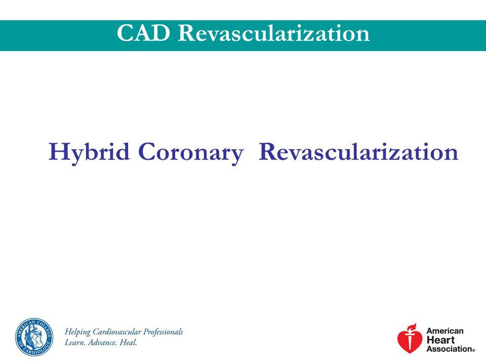 Hybrid Coronary Revascularization CAD Revascularization