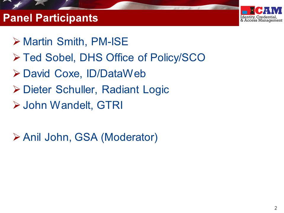 33 http://www.IDManagement.gov John Wandelt, GTRI