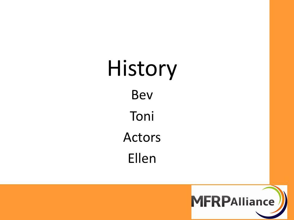 History Bev Toni Actors Ellen