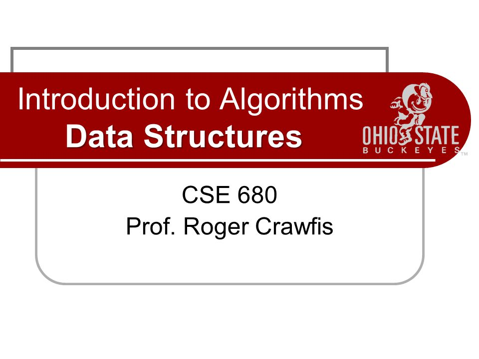 Overview Review basic abstract data structures Sets Lists Trees Graphs Review basic concrete data structures Linked-List and variants Trees and variants Examine key properties Discuss usage for solving important problems (search, sort, selection).