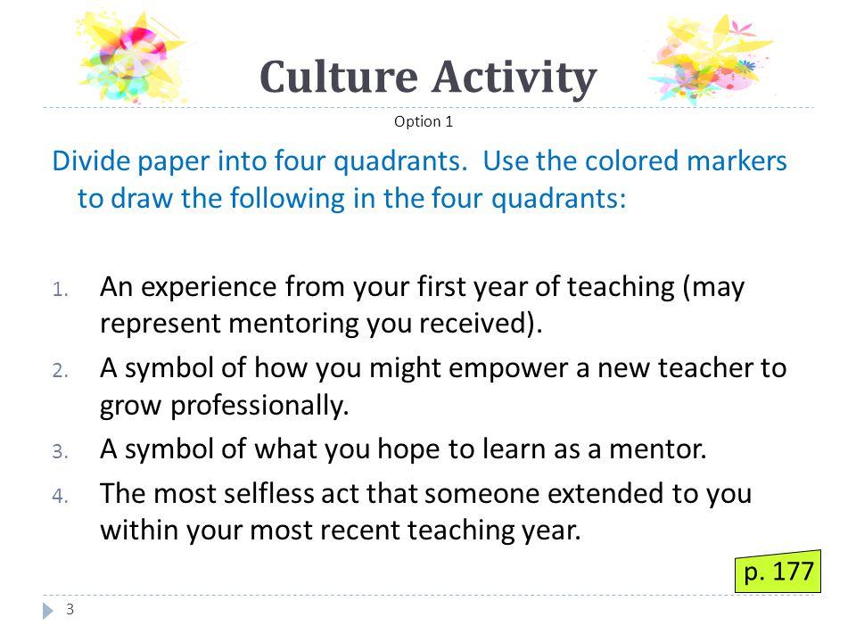 COLLABORATIVE Mentoring 64  Reflecting  Presenting  Problem-solving  Negotiating p. 51
