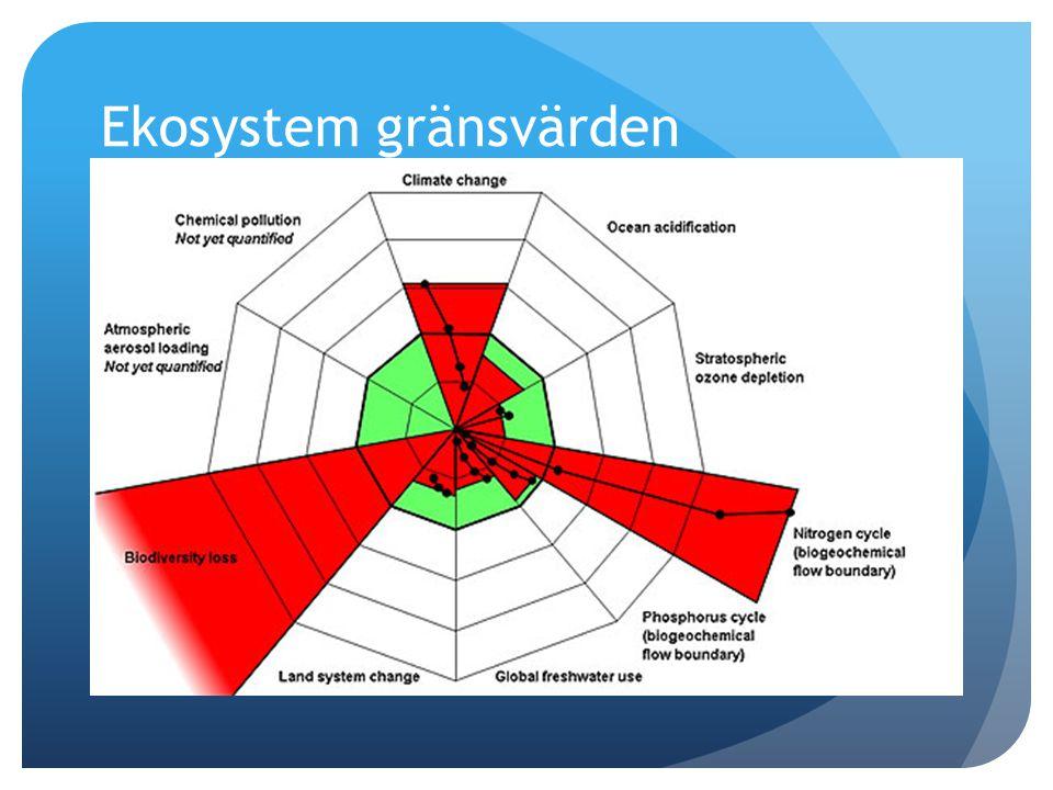 Ekosystem gränsvärden