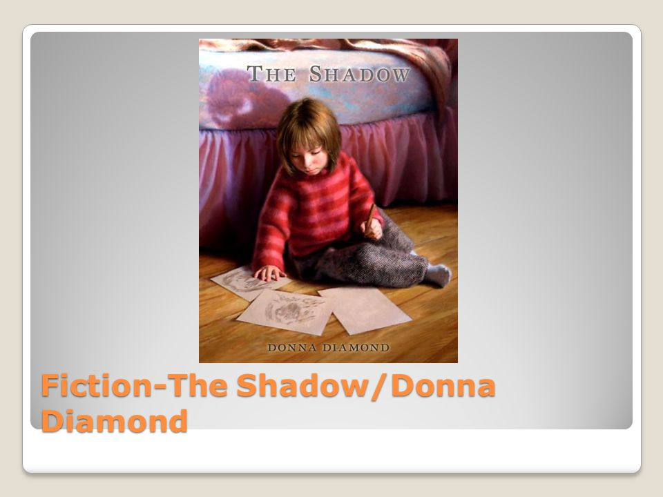 Fiction-The Shadow/Donna Diamond