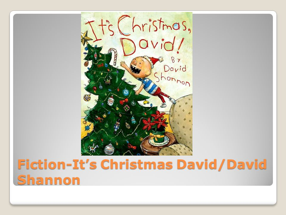 Fiction-It's Christmas David/David Shannon