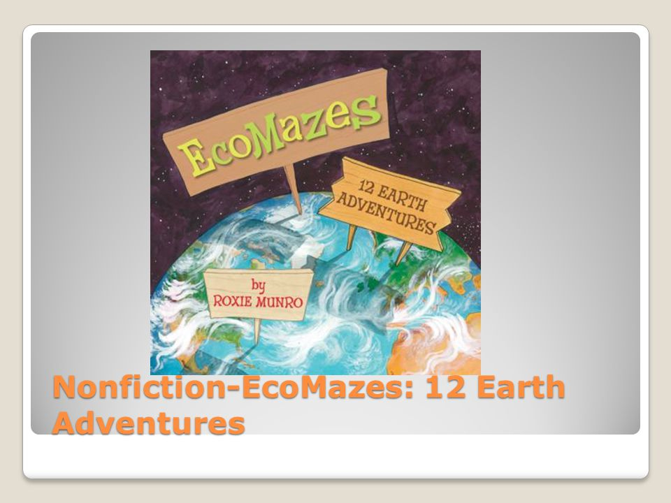 Nonfiction-EcoMazes: 12 Earth Adventures