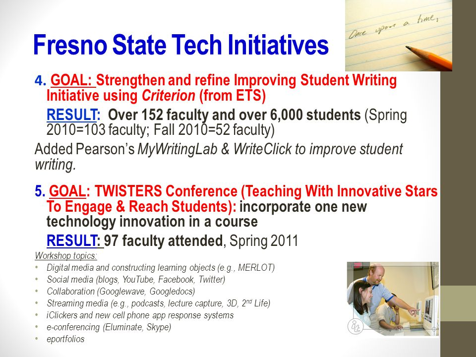 Fresno State Tech Initiatives 6.
