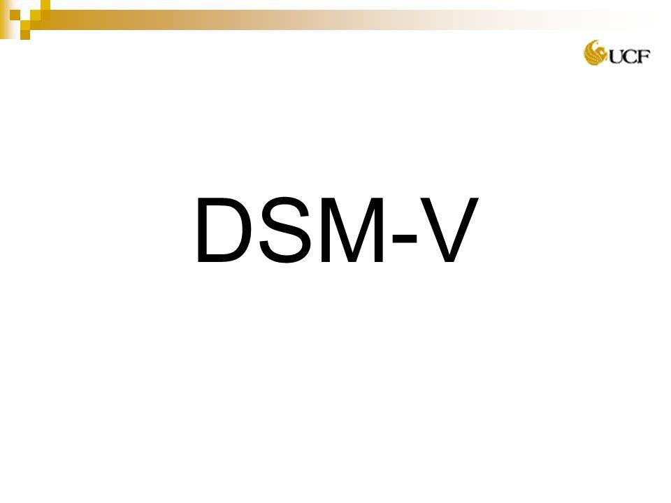 University of Central Florida DSM-V