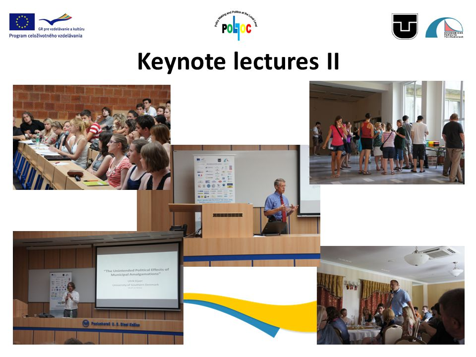Keynote lectures II