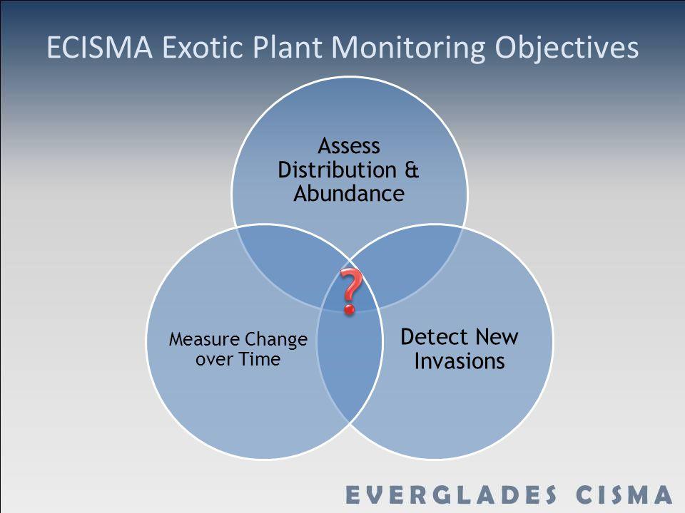 ECISMA Exotic Plant Monitoring Objectives