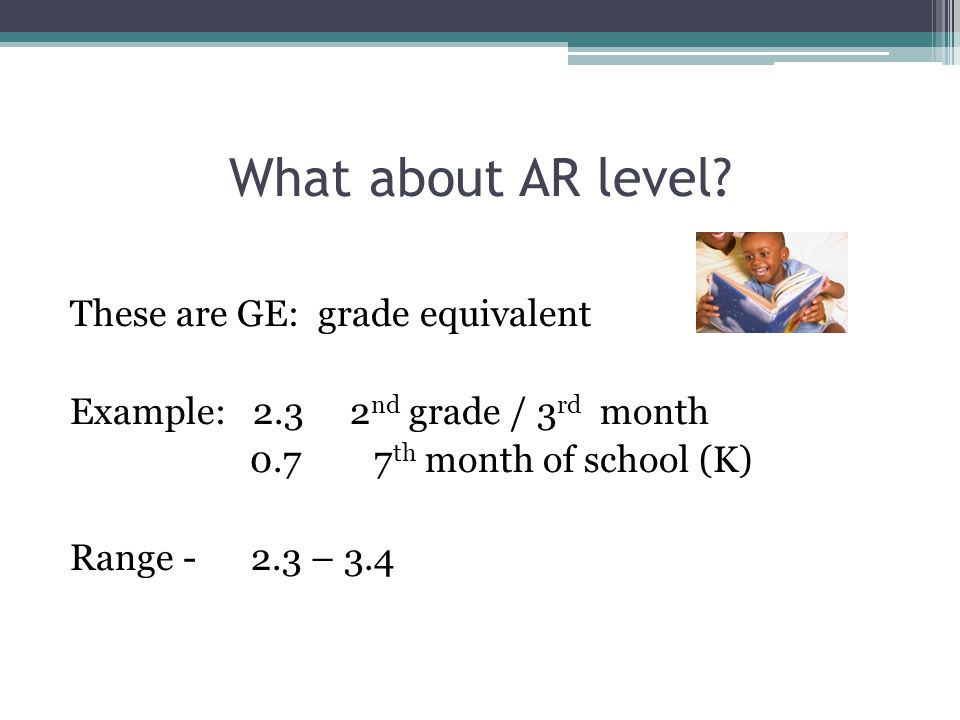 What about AR level.