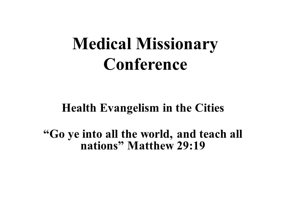 Health Evangelism in the Cities Grace is an attribute of God exercised toward underserving human beings.