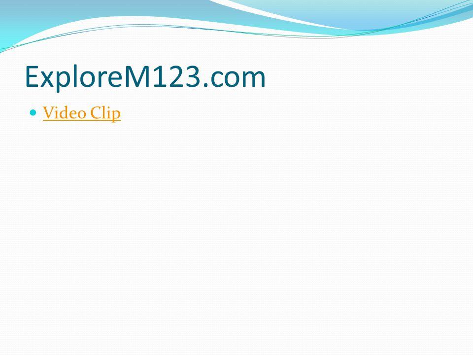 ExploreM123.com Video Clip