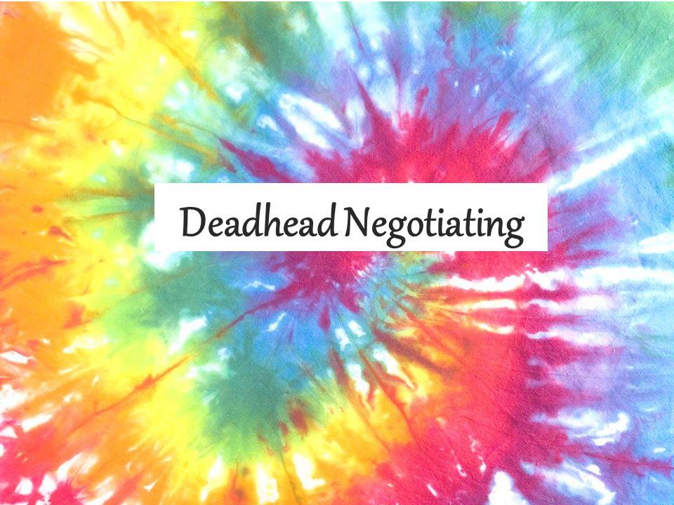Deadhead Negotiating
