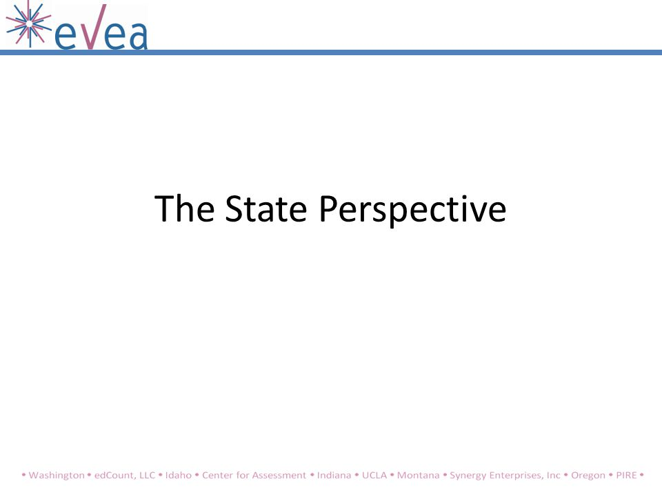 The State Perspective