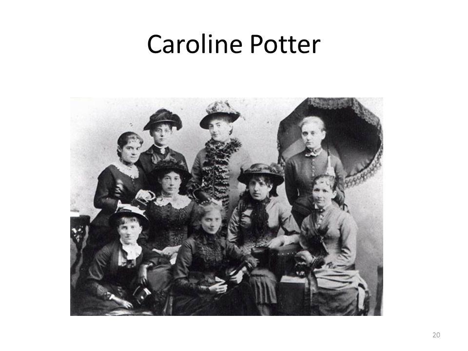 Caroline Potter 20