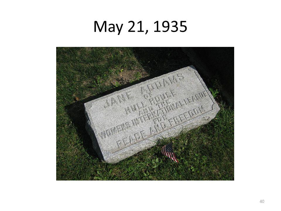 May 21, 1935 40