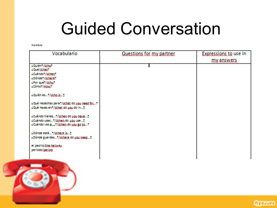 Guided Conversation