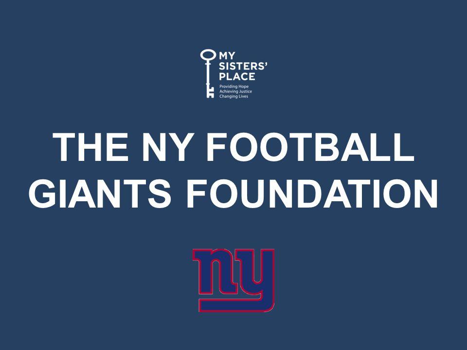 THE NY FOOTBALL GIANTS FOUNDATION