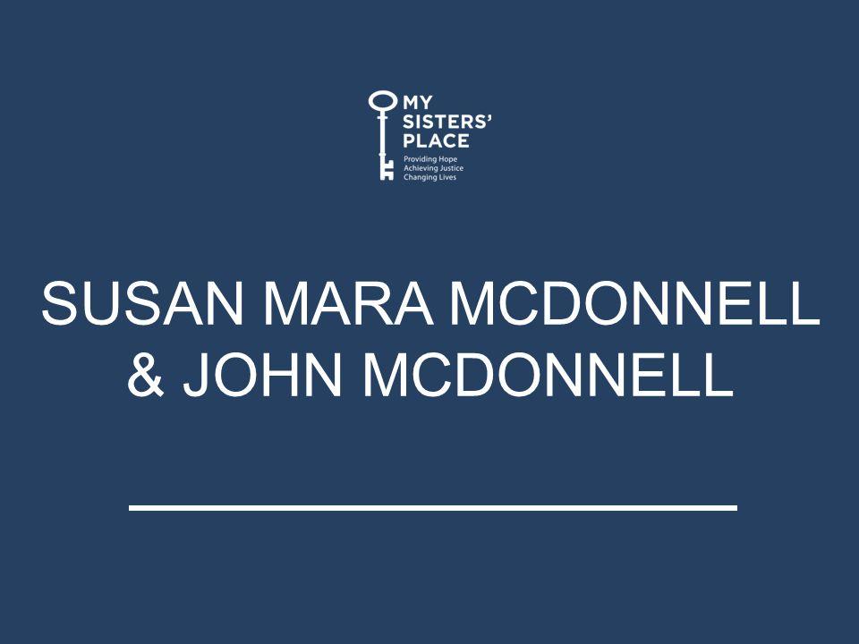 SUSAN MARA MCDONNELL & JOHN MCDONNELL