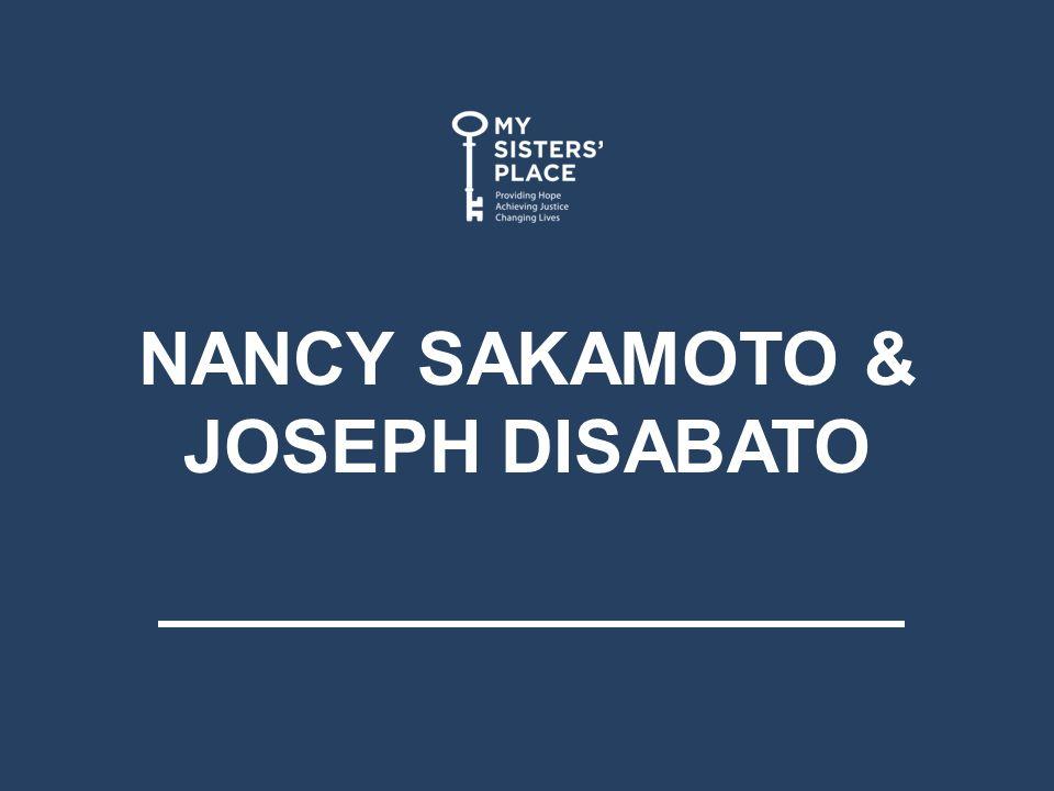 NANCY SAKAMOTO & JOSEPH DISABATO