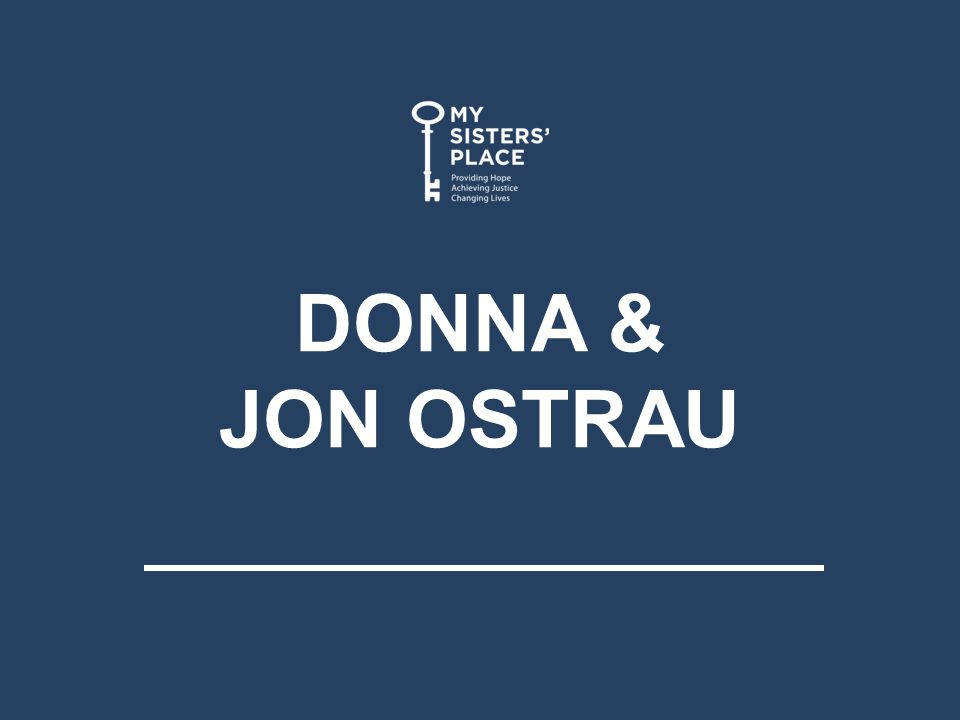 DONNA & JON OSTRAU