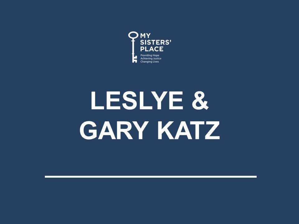 LESLYE & GARY KATZ