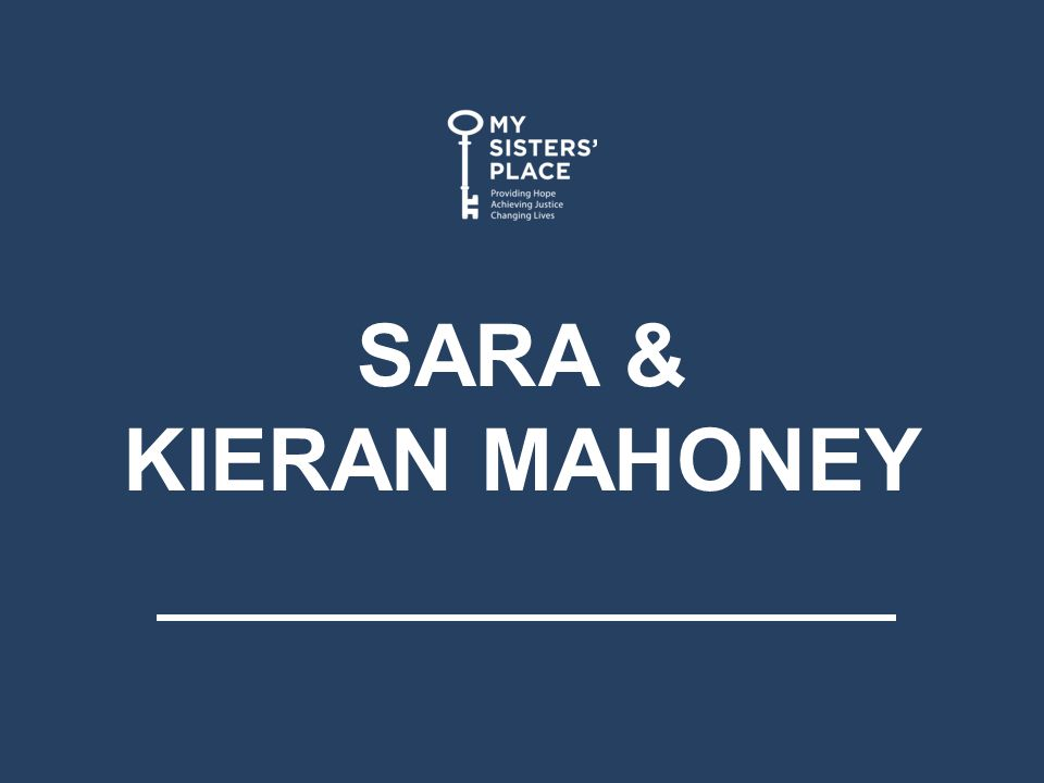 SARA & KIERAN MAHONEY