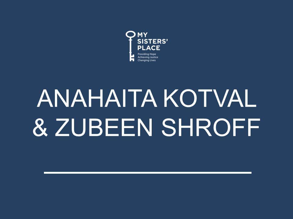 ANAHAITA KOTVAL & ZUBEEN SHROFF