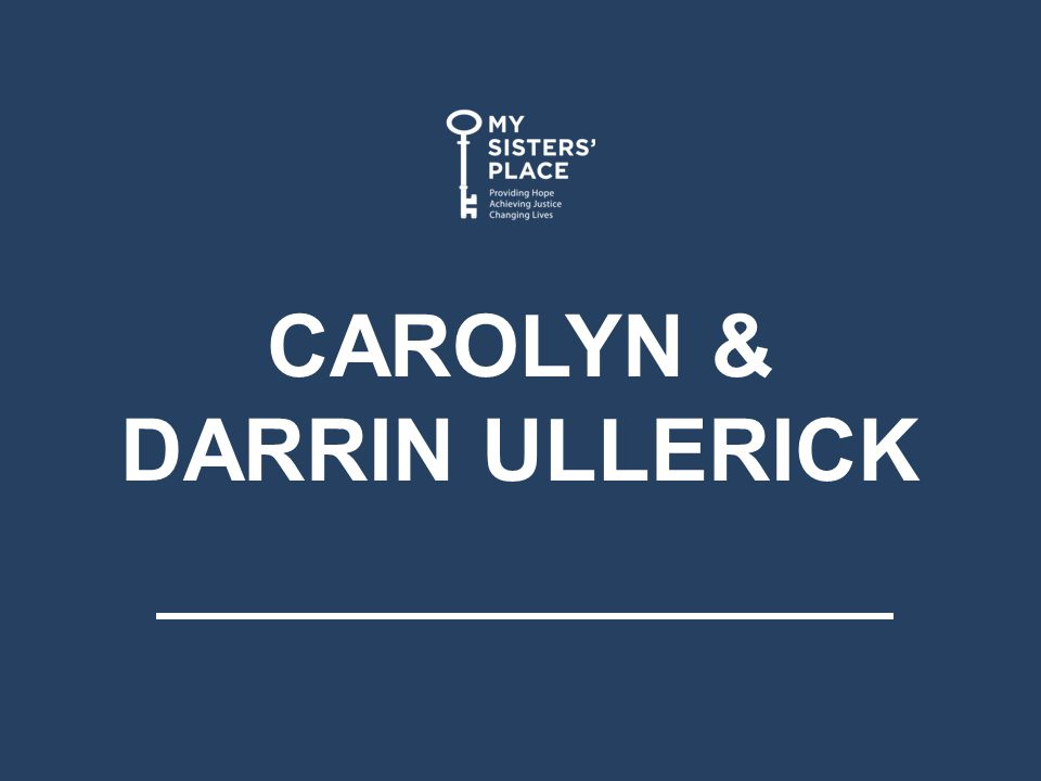 CAROLYN & DARRIN ULLERICK