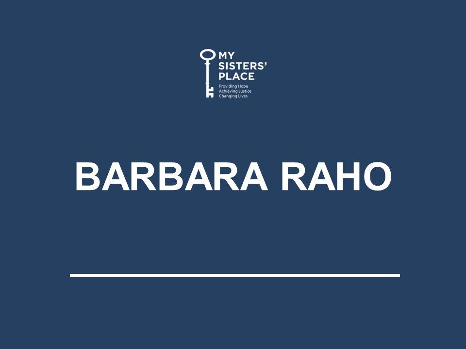 BARBARA RAHO